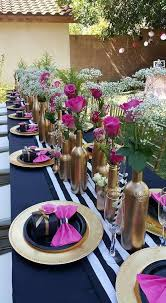 fl kate spade inspired bridal shower guest seating