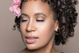 black bride toronto wedding natural makeup