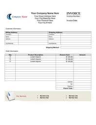 Invoice Templete Microsoft Sample Invoice Template South Peninsula Hospital
