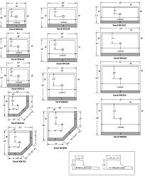 best corner bathtub dimensions standard best of standard shower floors 42 x42