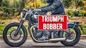 triumph bonneville bobber revealed 2016 youtube