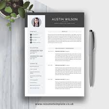 2019 Best Selling Ms Office Word Resume Cv Bundle The Claire