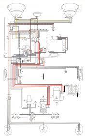 vw beetle plug wire diagram diagram 1969 Vw Bug Wiring Diagram 66 VW Bug Wiring-Diagram