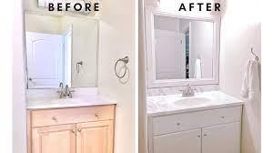 diy easy bathroom makeover