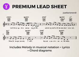 Create A Chord Chart Or Lead Sheet From Your Favourite Song