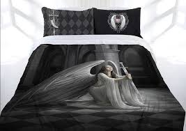anne stokes the blessing doona cover bed set double queen king gothic angel sword lee s dragon dreams