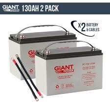 dual battery kits 130ah dual battery kit for camping 4wd boating caravans off grid solar kits