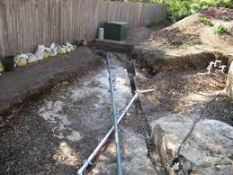 house remodelling underground electrical conduit Underground Electrical Transformers Diagrams now all we have to do is find one end or the other of the cable and telephone lines and run them thru the conduit Underground Electrical Distribution Power Lines