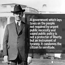 Inspirational Quote of the Day: Calvin Coolidge on Tyranny ... via Relatably.com