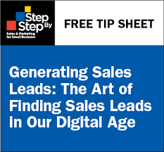 Free Tip Sheet Generating Sales Leads The Pohly Companythe Pohly