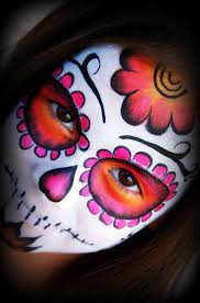 face paint sugar skulls sugar skull face painting