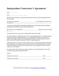 Contract Forms For Construction Construction Contract Template Contractor Agreement Template General