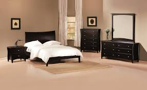 Bed And Bedroom Furniture Sets Raya Furniture - Black and walnut bedroom furniture