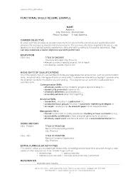 Special Skills And Qualifications Special Skills For A Resume Primary Qualification Examples