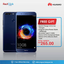 huawei 5. huawei honor 8 pro (6gb+64gb) + 5 free gift worth rm265 [ e