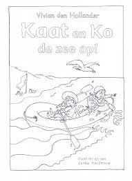 Kleurplaat Kaat En Ko De Zee Op Defjpg De Leukste Kinderboeken