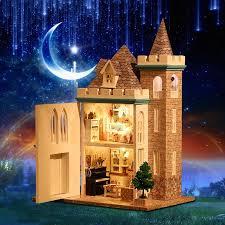 handmade dolls house furniture. handmade doll house diy miniature wooden dollhouse miniaturas furniture toys for children birthday gift k012 dolls