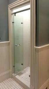 sheen bi fold glass shower door frameless bathroom remodel companies denver