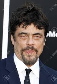 Benicio del Toro at the Los Angeles premiere of 'Sicario: Day..
