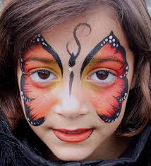 erfly face painting