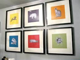 picture frames on wall simple. Best Collection Art On The Wall Simple Animal Painted Picture Draw Green Yellow Frame Ideas Home Decoration Frames Y