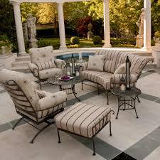 woodard terrace 6 piece patio lounge set woodardterracelounge6 patio lounge sets t91