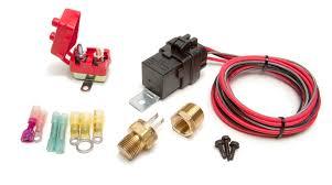 weatherproof fan relay kit w thermostatic switch 185 f on 175 f