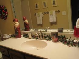 Decorations For Bathrooms Simple Christmas Decor For Bathroom Bathroom Decorating Ideas