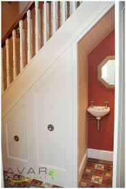 Toilet Under Stairs Cost Ideas Pinterest More Traditional Ideas - Bathroom in basement cost