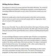 what is a business memo sample company memo template 6 free documents download in pdf word