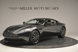 Pre Owned 2017 Aston Martin Db11 V12 Coupe For Sale Miller Motorcars Stock 7500