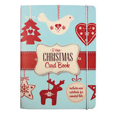Christmas Card Picture Christmas Card List Book Gifts Gadgets Qwerkity