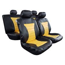leatherette auto seat cover car interior 1 jpg