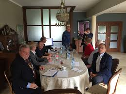 the key topic at the business meeting on saay morning is how to expand round table in poland and how the 41ers of gdansk can support this