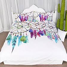 Dream Catcher Crib Set Amazon 100 Pieces Gemstone Dreamcatcher Duvet Cover Set Chic 10