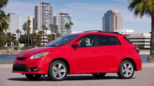 The Toyota Matrix May Not Be Able To Dodge This Bullet