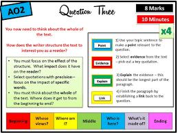 AQA GCSE English paper   help  SlideShare
