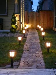 Small Picture Garden Lighting Ideas Home Design Ideas and Inspiration