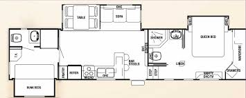 Jayco Travel Trailer Floor Trends With Attractive 2 Bedroom Plans Ideas  Used Two For Lovely