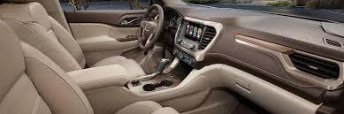 gmc acadia interior. Exellent Acadia 2018 Acadia Denali Midsize Luxury SUV Interior Features For Gmc Interior O