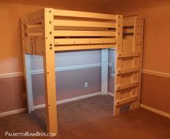 Y Twin Loft Bed Plan Palmetto Bunk Beds
