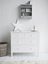 white chest of drawers. New England Simple White Bedroom Furniture, Chest Of 4 Drawers. Delivered Already Built. Drawers O