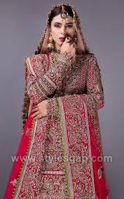 Lehenga Design 2018 Pakistani Fahad Hussayn Latest Pakistani Designer Bridal Dresses 2019