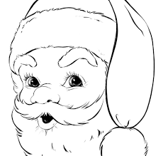 Small Picture Coloring Pages Free Printable Santa Claus Coloring Pages For Kids