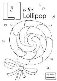 Coloring Pages For Kids Letters And Alphabet Letter L Asl Sign