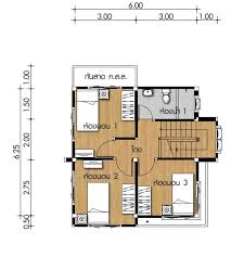 Small space kitchen design suggestions. Small House Plan 6x6 25m With 3 Bedrooms House Idea