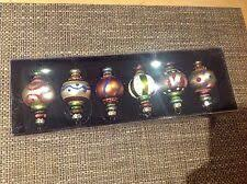 6 X Drescher Christbaumkugel Christbaumschmuck Orientalisch Glas 7 4cm Uvp 59 90