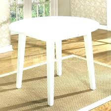 drop leaf table white