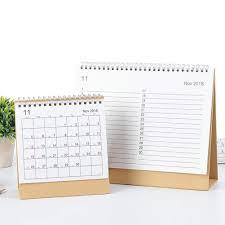 Office Calender Futurepast 2018 2019 Desk Calendar Desk Top Flip Calendar Stand Up Office Table Planner