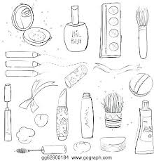 Makeup Coloring Pages Luvsiteinfo